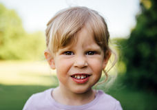 Little girl portrait Stock Photos