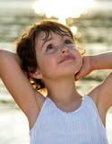 Little girl portrait Royalty Free Stock Photos