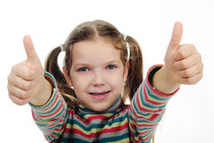 A little girl Stock Photography