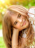 Little girl portrait Royalty Free Stock Photo