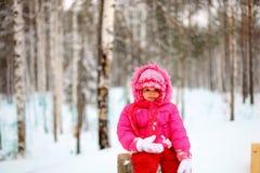 Little girl. Stock Photography