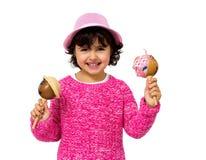 Little girl portrait Stock Photography