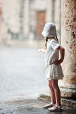 Little girl portrait outdoors Royalty Free Stock Photo