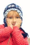 Little girl portrait outdoors Stock Photo