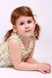 little girl portrait Royalty Free Stock Image