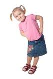 Little girl pose stock photo