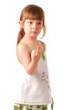 Little girl posing Stock Photo