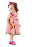 A little girl is posing Stock Images