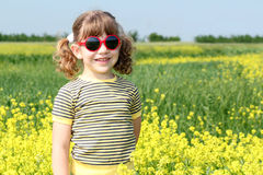 Little girl posing Stock Photography