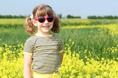 Little girl posing Stock Photography
