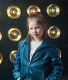 Little girl posing Royalty Free Stock Images