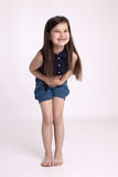 Little girl preschooler Royalty Free Stock Image