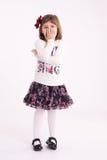 Little girl preschooler model Royalty Free Stock Images