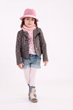 Little girl preschooler model Stock Photo