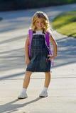 Little Girl Ready For School Stock Image
