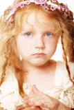 Little girl with red hair Royalty Free Stock Photos