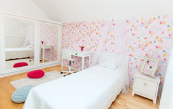 Little girl room Stock Image