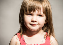 Little girl's face Royalty Free Stock Photo