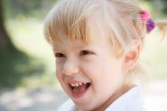 Little girl's face Stock Photos