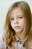 Little girl`s portrait Royalty Free Stock Photos