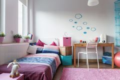 Little girl's room Royalty Free Stock Photos