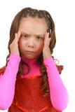 Little girl sad Royalty Free Stock Photo