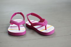 Little Girl Sandals Royalty Free Stock Photo