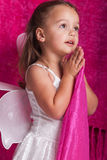 Little girl Saying a prayer Royalty Free Stock Images