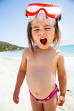 Little girl at sea Royalty Free Stock Photography