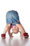 Little girl showing her butt Stock Photos