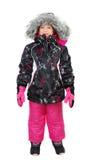 Little girl in ski wear Royalty Free Stock Image
