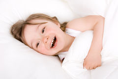 Little girl sleeping Royalty Free Stock Photography