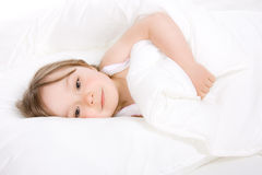 Little girl sleeping Royalty Free Stock Photo