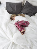 Little Girl sleeping Stock Image