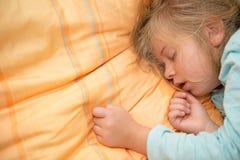 Little girl is sleeping Royalty Free Stock Photos
