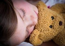 Little girl sleeping Royalty Free Stock Photo
