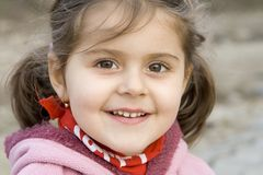 Little girl smile Royalty Free Stock Photo