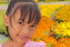 Little girl smile Royalty Free Stock Images