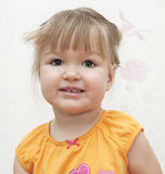 Little girl with smile. Stock Photography