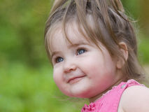Little girl smile Royalty Free Stock Photos