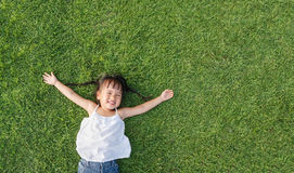Little girl smile Royalty Free Stock Image