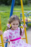 Little girl with a smile on his face Royalty Free Stock Photos