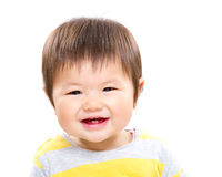 Little girl smile Stock Images