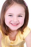 Little girl smiling Stock Image