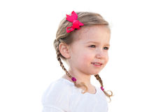 Little girl smiling Stock Photos