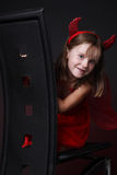 Little girl smiling. Stock Images