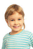 Little girl smiling Stock Photo