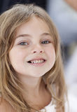 Little girl smiling at the camera Stock Photos