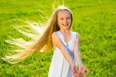 Little girl smiling. Royalty Free Stock Image