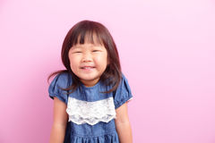 Little girl smiling happy Royalty Free Stock Image